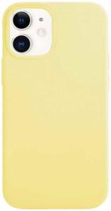 Чехол защитный «vlp» Silicone Сase для iPhone 12 mini, желтый