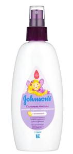 """Спрей для волос """"Сильные локоны"""" 200мл Johnson's baby"""