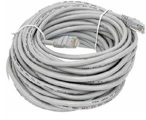 "Патчкорд литой ""Aopen"" UTP кат.5е 15м серый <ANP511_15M>"