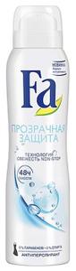 Дезодорант-антиперспирант Прозрачная защита 150мл FA