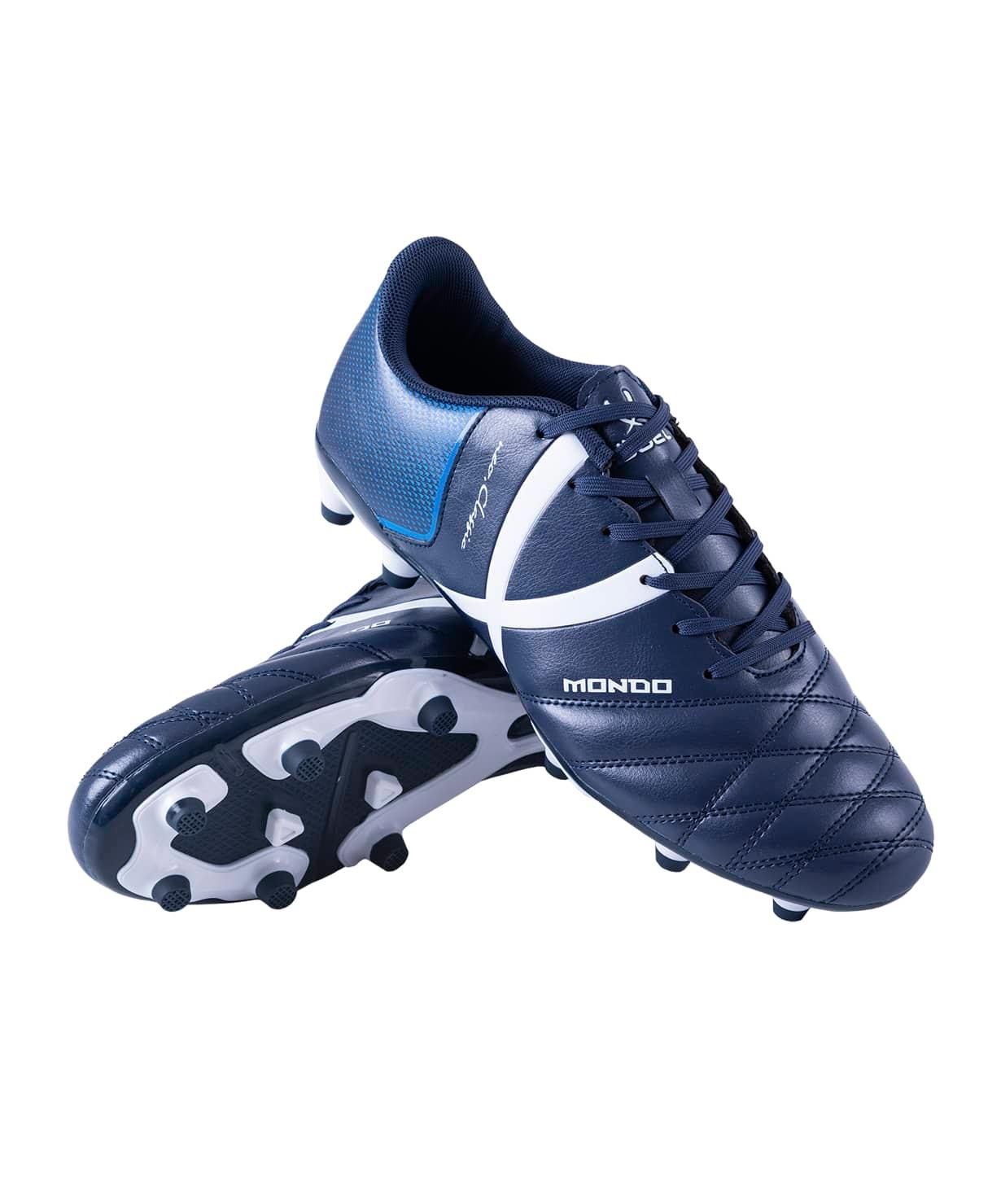 Бутсы футбольные Mondo JSH202, темно-синий, р. 41-45