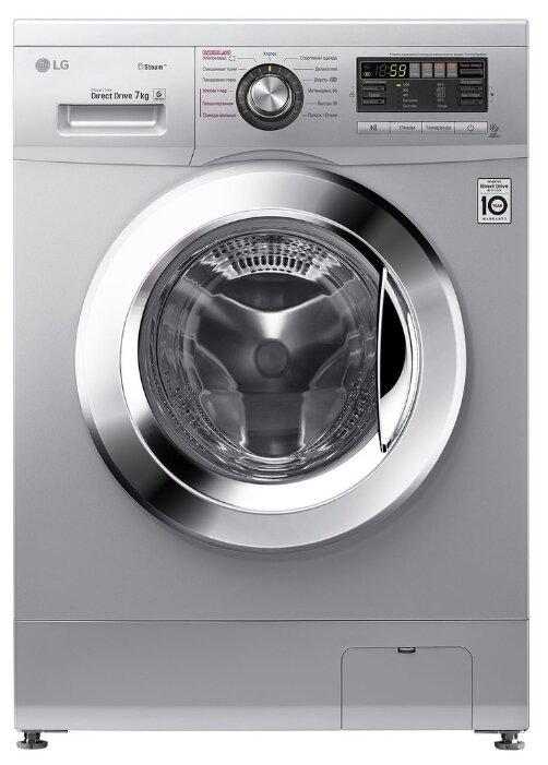 Стиральная машина LG F1296HDS4 серебристый