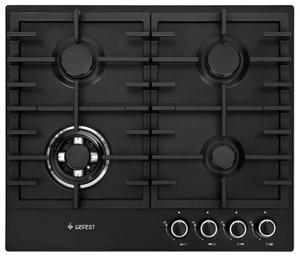 Газовая варочная панель GEFEST ПВГ 1214-01 К2 черный