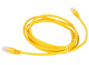 Патчкорд литой Aopen/Qust UTP кат.5е 2м желтый <ANP511_2M_Y>