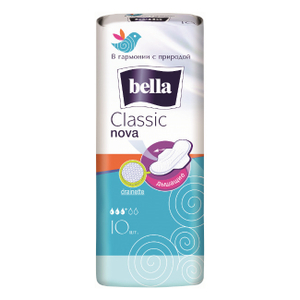 Прокладки гигиенические CLASSIC nova drainette 10шт Bella