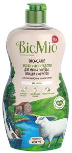Средство для мытья посуды, овощей и фруктов 450мл BioMio