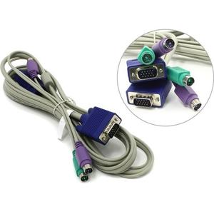 PS / 2 KVM кабель TRENDnet TK-C06 нетоварный вид
