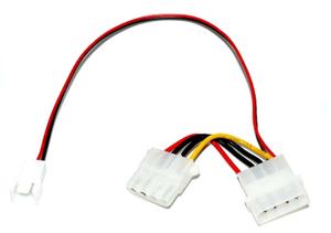 Переходник питания для вентилятора с 3pin->4pin БП