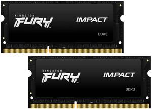 Оперативная память Kingston FURY [KF316LS9IBK2/16] 16 Гб DDR3