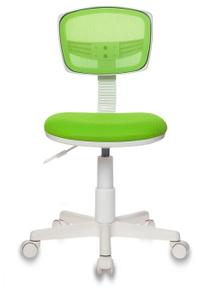 Кресло детское Бюрократ CH-W299 салатовый