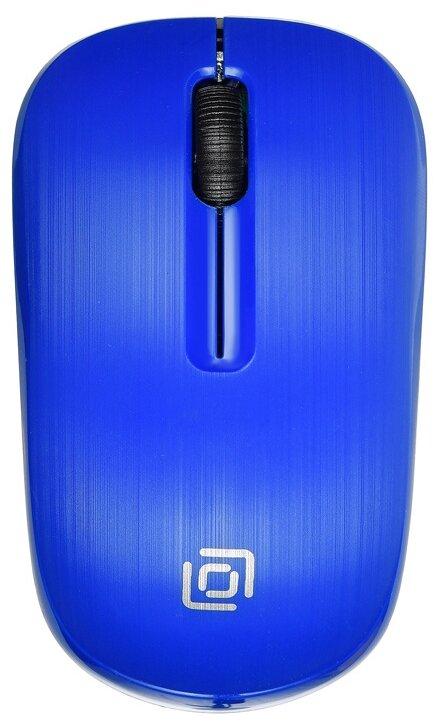 Мышь беспроводная Oklick 525MW синий