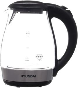 Чайник электрический Hyundai HYK-G2030 черный
