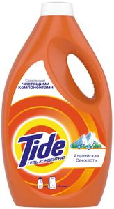 Жидкость для стирки Альпийская свежесть 2.47л TIDE