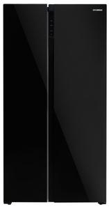Холодильник Hyundai CS5003F черный