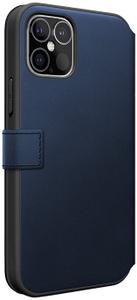 Чехол книжка Mercedes для Apple iPhone 12 Pro Max синий
