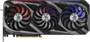 Видеокарта Asus GeForce RTX 3060 Ti [ROG-STRIX-RTX3060TI-O8G-V2-GAMING] LHR 8 Гб