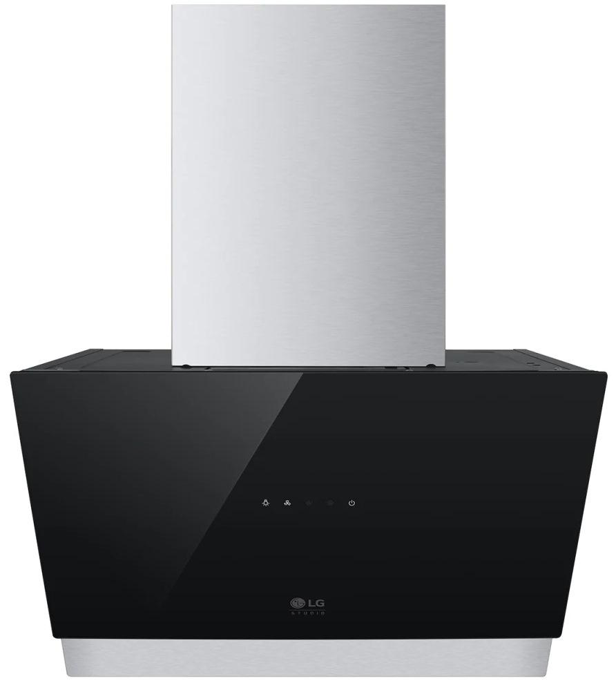 Вытяжка встраиваемая LG HCEZM2427B черный управление: сенсорное