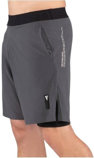 Мужские шорты Eminent black/grey FA-MS-0201-BDG, черный/серый