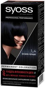 Крем-краска для волос Color 1/4 Иссиня-Чёрный Syoss