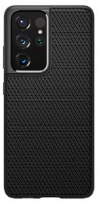 Чехол - накладка Spigen Liquid Air, black - Galaxy S21 Ultra