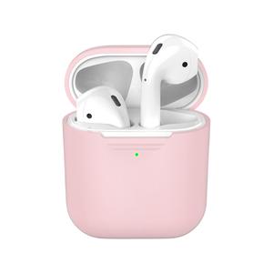 Чехол силиконовый Deppa для AirPods (Pink)