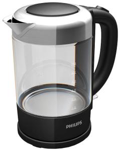 Чайник электрический Philips HD9340/90 серебристый