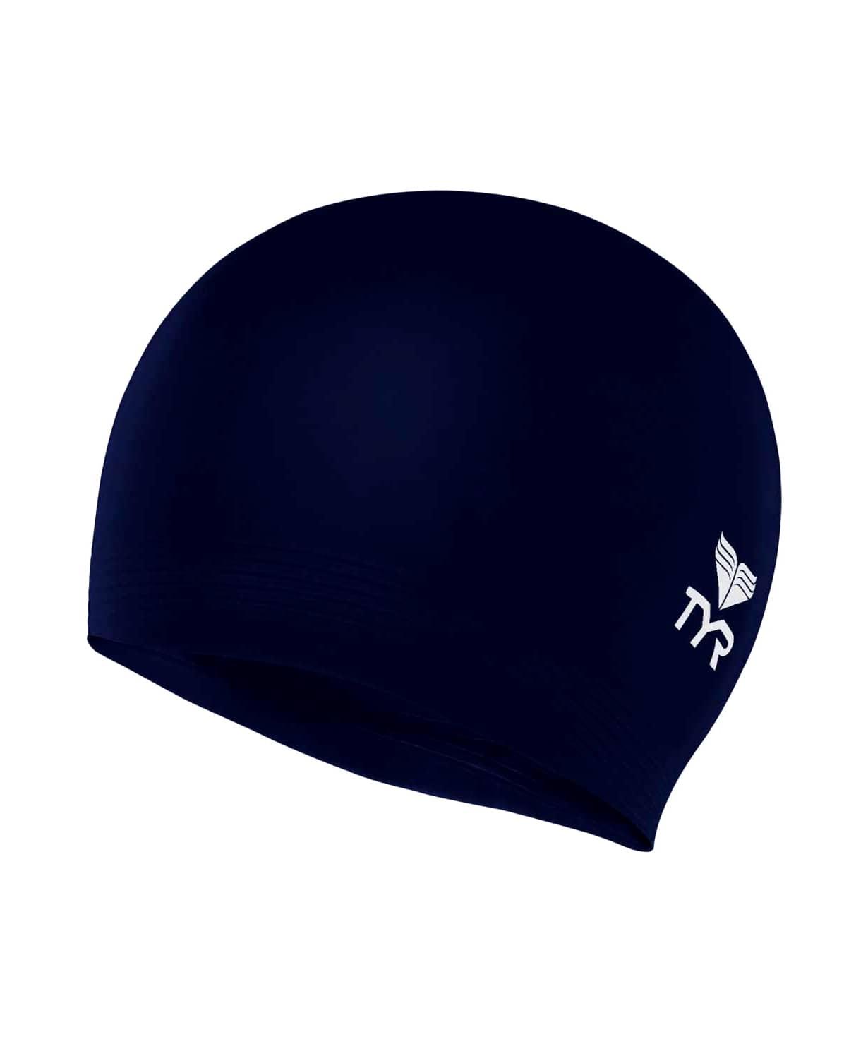 Шапочка для плавания Latex Swim Cap, латекс, LCL/401, синий