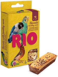 """RIO / Лакомство для птиц """"Бисквит"""" с полезными семенами"""