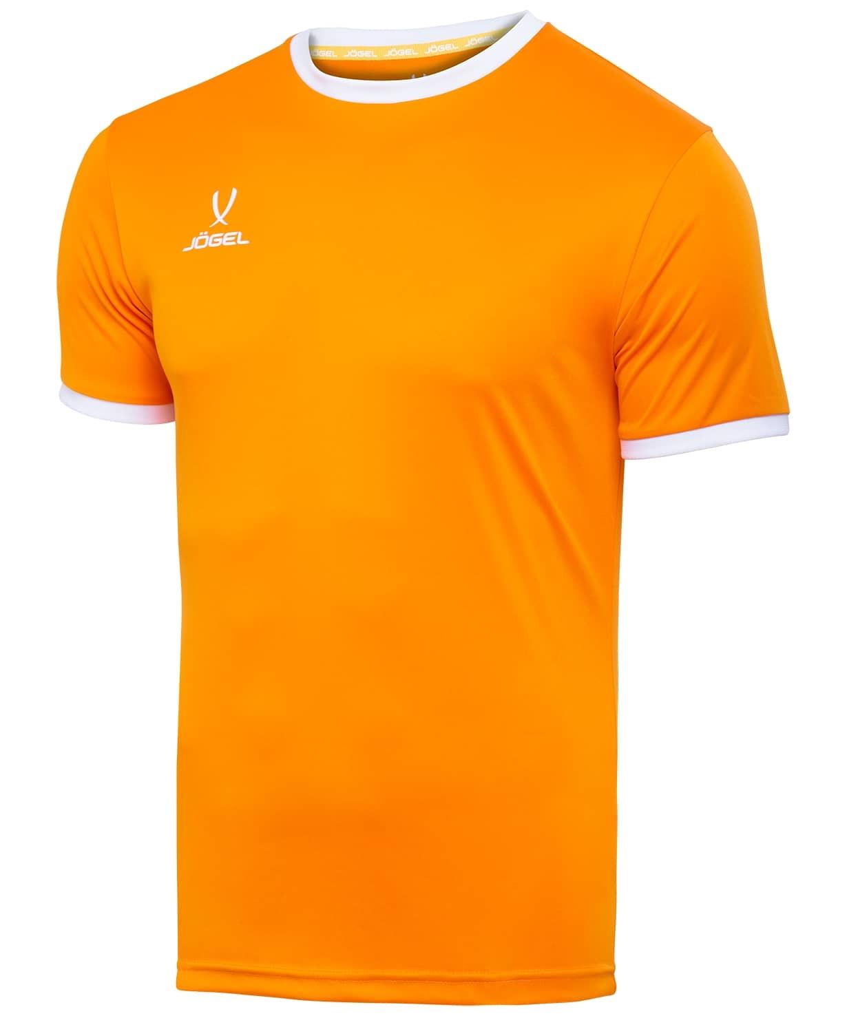 Футболка футбольная CAMP Origin JFT-1020-O1, оранжевый/белый