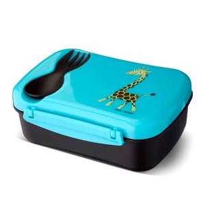Ланч-бокс детский с охлаждающим элементом N'ice Box Giraffe бирюзовый Balvi