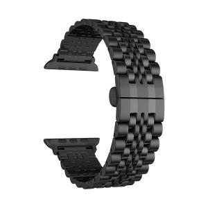 Ремешок из нержавеющей стали для Apple Watch 38/40 mm LYAMBDA CASTOR DS-APG-04-40-BK Black