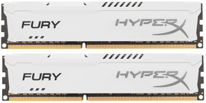 Оперативная память HyperX FURY White Series [HX318C10FWK2/16] 16 Гб DDR3