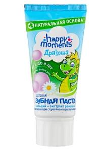 Зубная паста детская bubble gum Дракоша 60мл