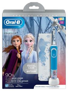 Электрическая зубная щетка для детей Oral-B Frozen D100.413.2KX