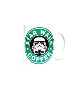 """Кружка керамическая  """"Star wars coffee """" Звездные войны"""