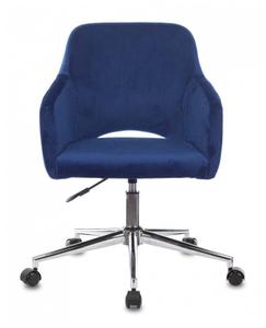 Кресло игровое Бюрократ CH-380SL синий