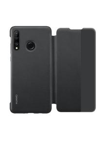 Ориг. Чехол-книжка силикон для Huawei  P30 lite, черный