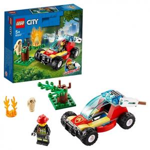 Конструктор lego city лесные пожарные 60247