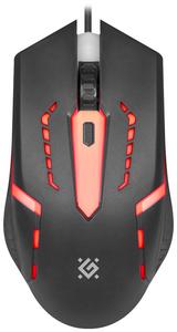 Мышь проводная Defender Flash MB-600L черный
