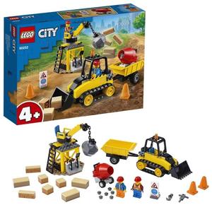 Конструктор lego city строительный бульдозер 60252