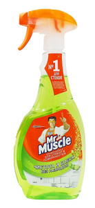 """Очищающее средство для стёкол и др. поверхностей """"Лайм"""" 500мл Mr Muscle"""