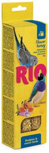 """RIO / Лакомство для волнистых попугаев и экзотических птиц """"Палочки"""" с мёдом 80 гр."""