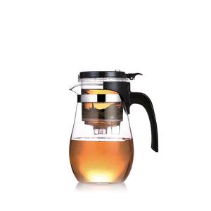 6534  Чайник заварочный Fissman 900мл GUNFU (стекло)