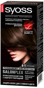 Крем-краска для волос Color 4/1 Каштановый Syoss