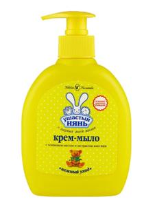 Крем-мыло жидкое с алоэ 300мл Ушастый нянь