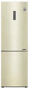 Холодильник LG GA-B459CEWL бежевый