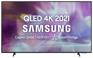 """Телевизор Samsung QE55Q60AAUXRU 55"""" (138 см) черный"""