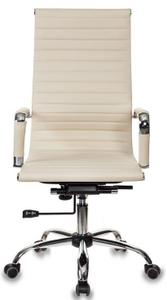 Кресло для руководителя Бюрократ CH-883 бежевый