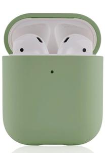 Чехол защитный «vlp» Plastic Case для AirPods, светло-зеленый