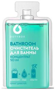 Концентрированное чистящее средство серии BATHROOM, 1 капсула 50 мл Duty Box